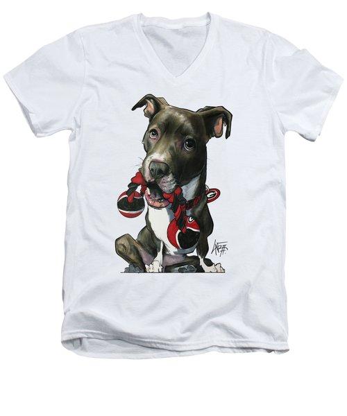 Mauras 3412 Men's V-Neck T-Shirt