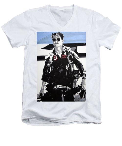 Maverick Men's V-Neck T-Shirt