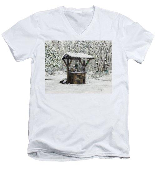 Mavis' Well Men's V-Neck T-Shirt