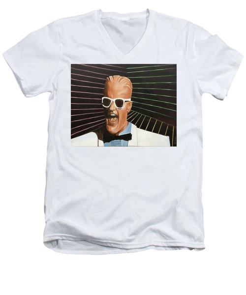 Max Headroom Men's V-Neck T-Shirt