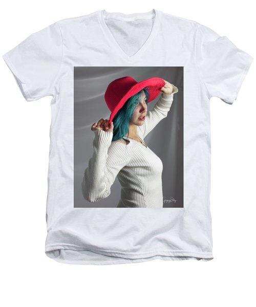 Maxina Final Adjustments Men's V-Neck T-Shirt