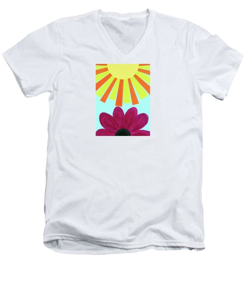 May Flowers Men's V-Neck T-Shirt