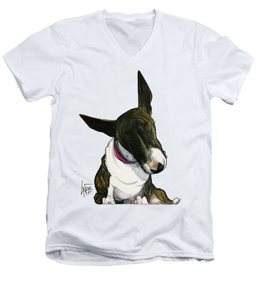 Maya Minuto 3190 Men's V-Neck T-Shirt