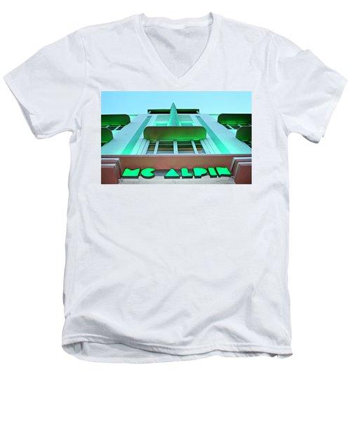 Mcalpin Hotel Men's V-Neck T-Shirt