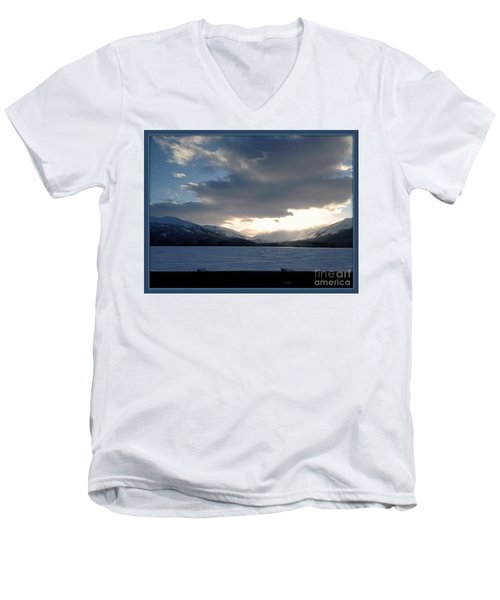 Men's V-Neck T-Shirt featuring the photograph Mckinley by James Lanigan Thompson MFA