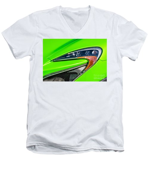 Mclaren P1 Headlight Men's V-Neck T-Shirt