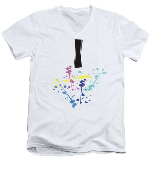 Me Myself And I Men's V-Neck T-Shirt by Jacquie King