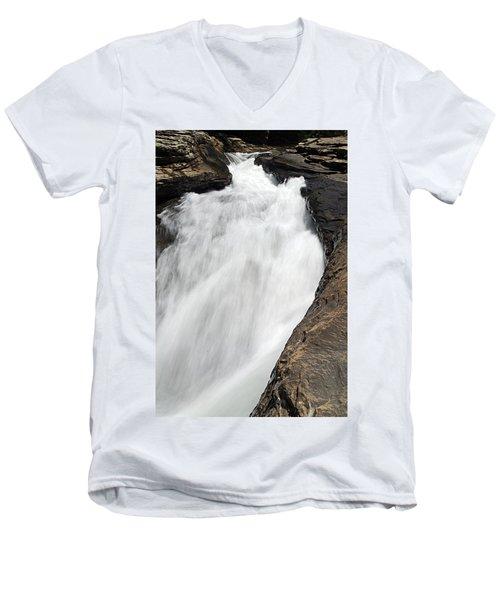 Meadow Run Water Slide 1 Men's V-Neck T-Shirt