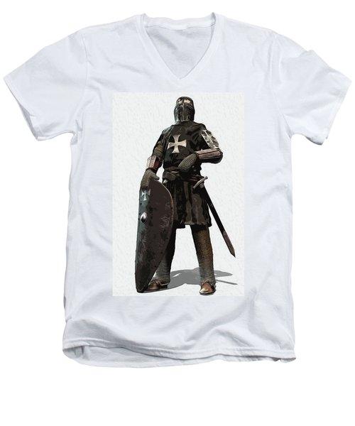 Medieval Warrior - 06 Men's V-Neck T-Shirt