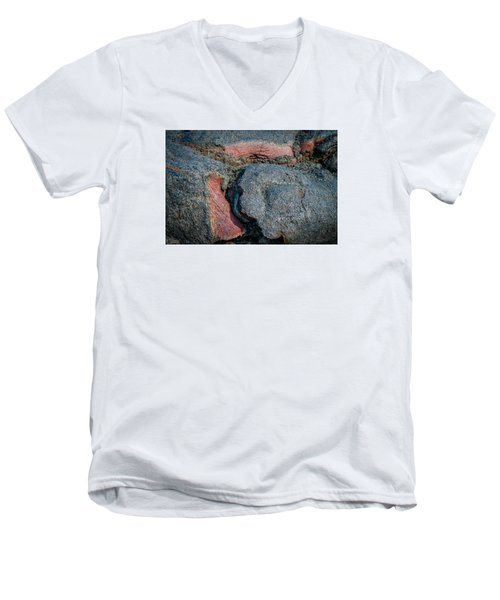 Men's V-Neck T-Shirt featuring the photograph Medium Rare by Kathleen Scanlan