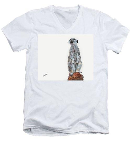 Meer Curiosity Men's V-Neck T-Shirt