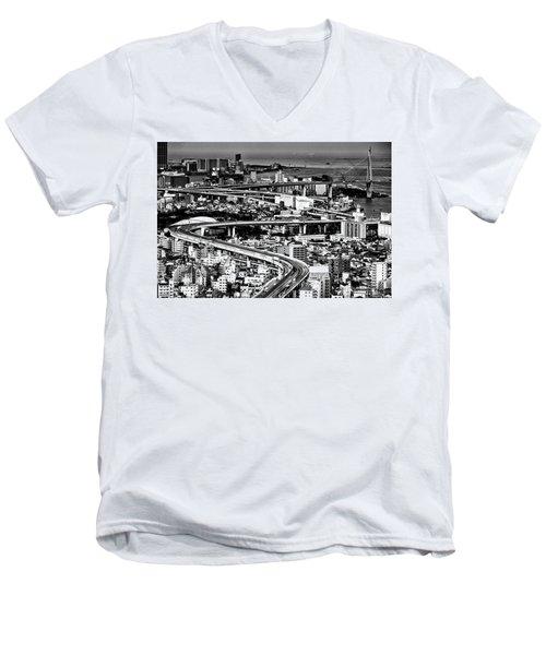 Megapolis Men's V-Neck T-Shirt