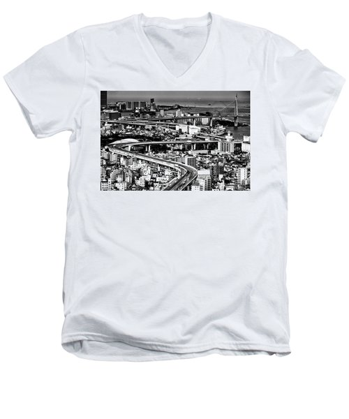Megapolis Men's V-Neck T-Shirt