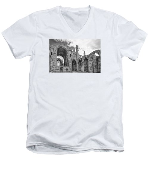 Melrose Abbey Men's V-Neck T-Shirt