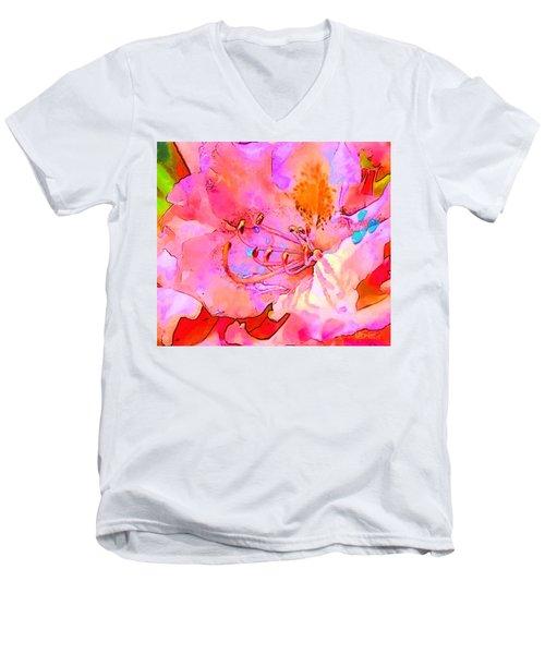Memories Of Spring Men's V-Neck T-Shirt