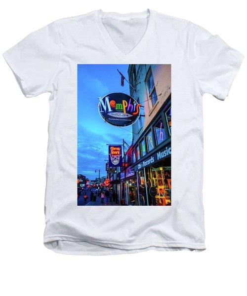 Memphis Soul Men's V-Neck T-Shirt