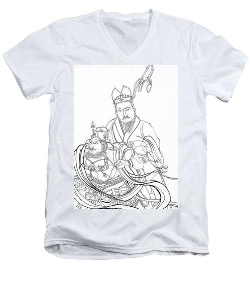 Men Of The East Men's V-Neck T-Shirt