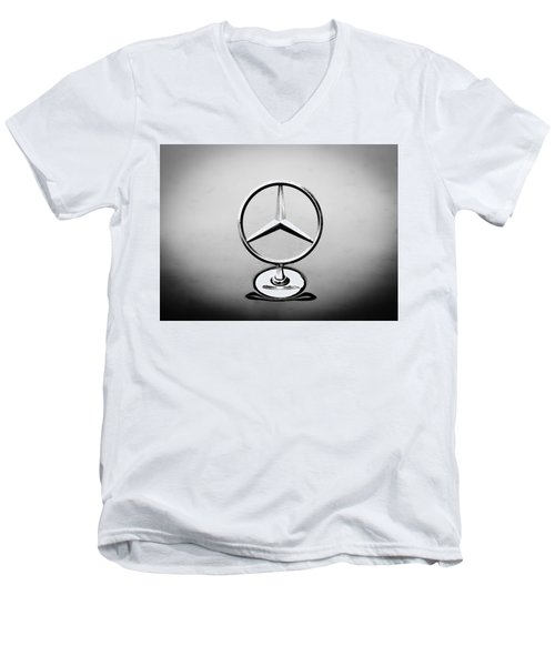 Mercedes Benz Logo Men's V-Neck T-Shirt