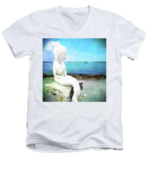 Mermaid Lisa Men's V-Neck T-Shirt