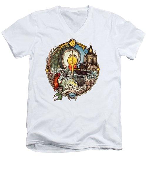 Mermaid Part Of Your World Men's V-Neck T-Shirt