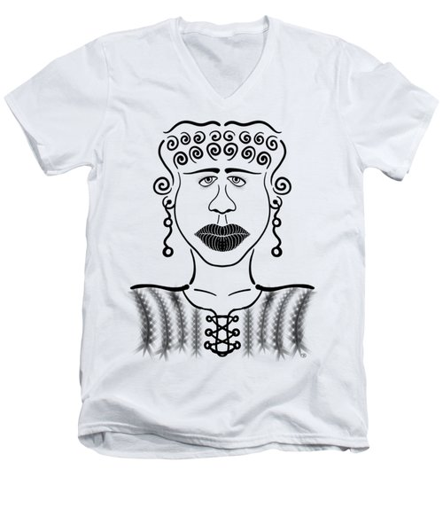 Michelle Men's V-Neck T-Shirt