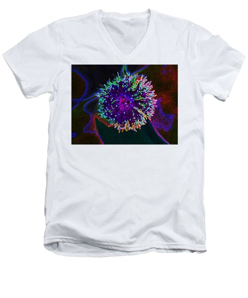 Microorganism Men's V-Neck T-Shirt