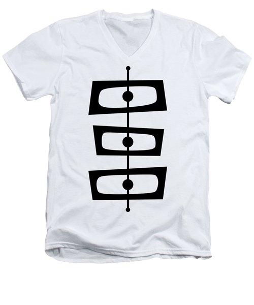 Mid Century Shapes 1  Men's V-Neck T-Shirt