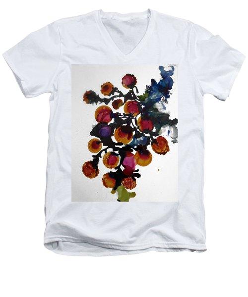 Midnight Magiic Bloom-1 Men's V-Neck T-Shirt