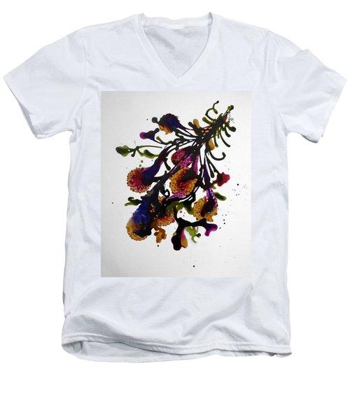 Midnight Magic-2 Men's V-Neck T-Shirt