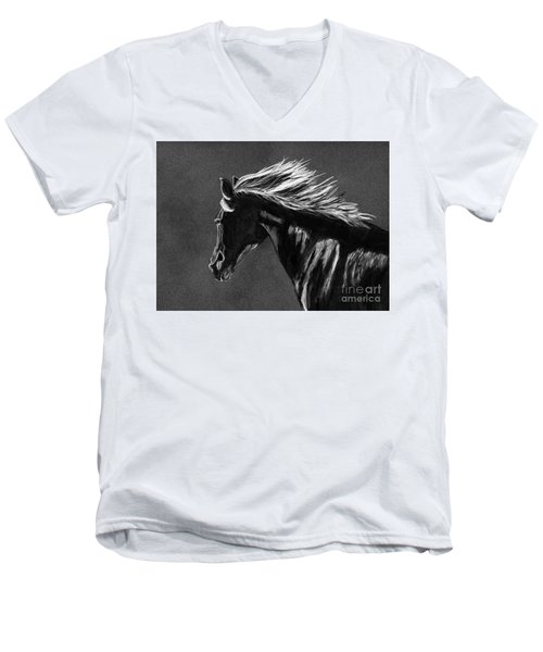 Midnight Ride Men's V-Neck T-Shirt