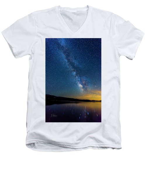 Milky Way 6 Men's V-Neck T-Shirt