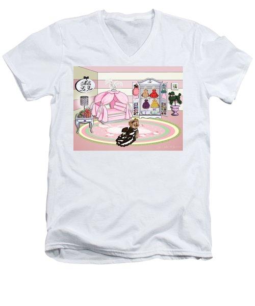 Millie Larue's French Room Men's V-Neck T-Shirt