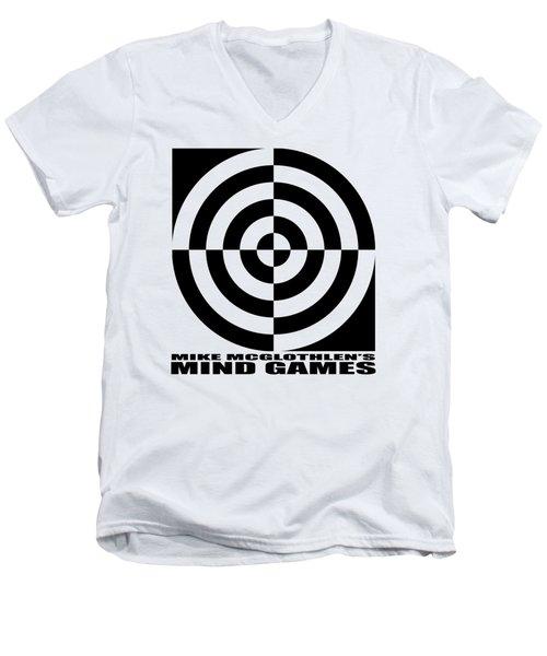 Mind Games 1se Men's V-Neck T-Shirt