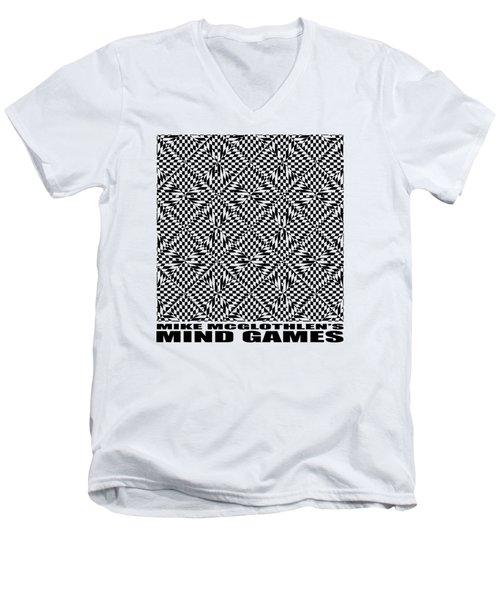 Mind Games 61se 2 Men's V-Neck T-Shirt