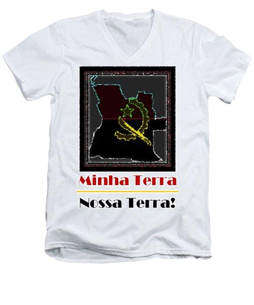 Minha Terra Men's V-Neck T-Shirt