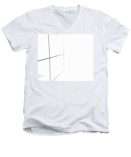Minimal Squares Men's V-Neck T-Shirt