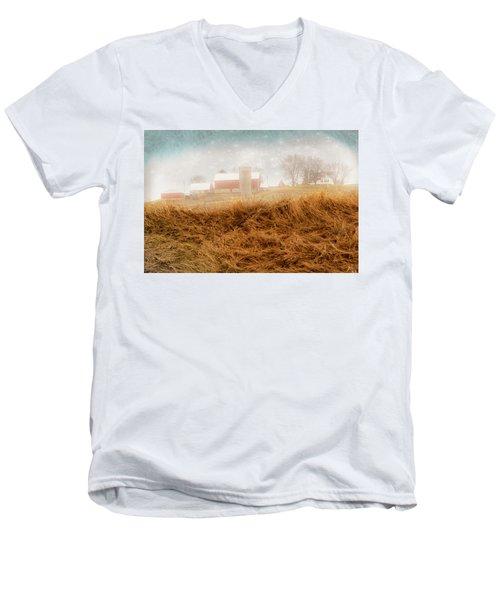 M_sota_ornot Men's V-Neck T-Shirt