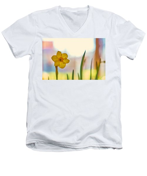 Miss Yellow Men's V-Neck T-Shirt
