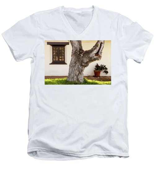 Mission Tree Men's V-Neck T-Shirt