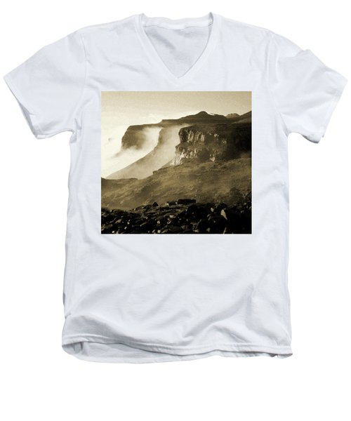Mist In Lesotho Men's V-Neck T-Shirt