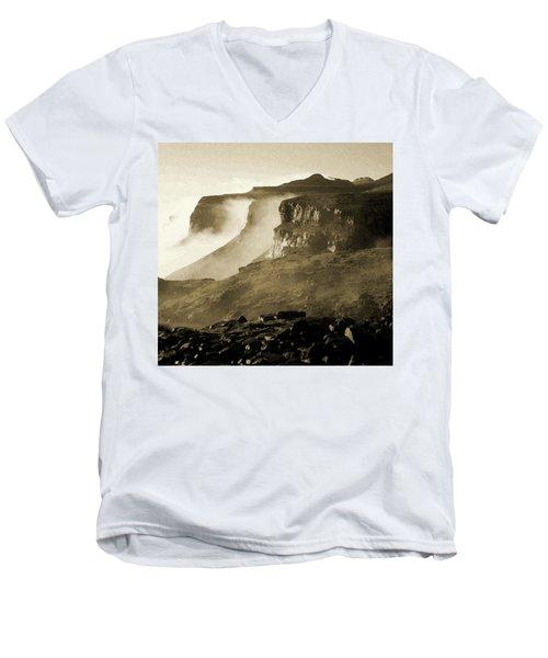 Mist In Lesotho Men's V-Neck T-Shirt
