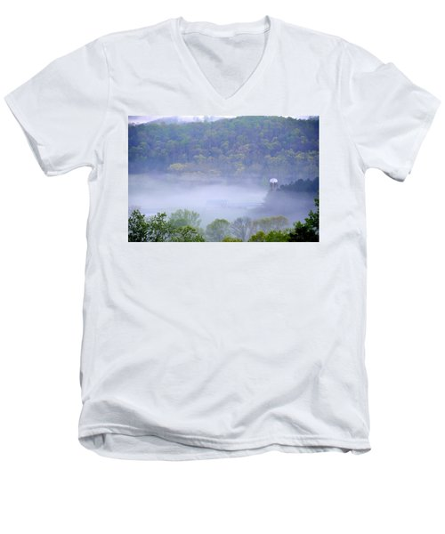Mist In The Valley Men's V-Neck T-Shirt