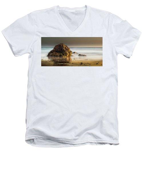 Misty Rock Men's V-Neck T-Shirt