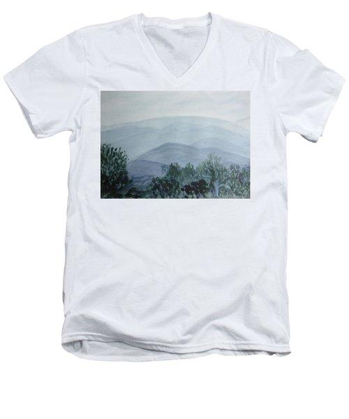 Misty Shenandoah Men's V-Neck T-Shirt