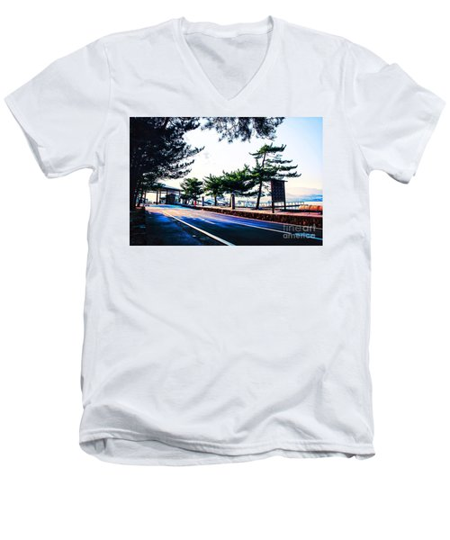 Miyajima Men's V-Neck T-Shirt