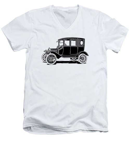 Model T Sedan Tee Men's V-Neck T-Shirt