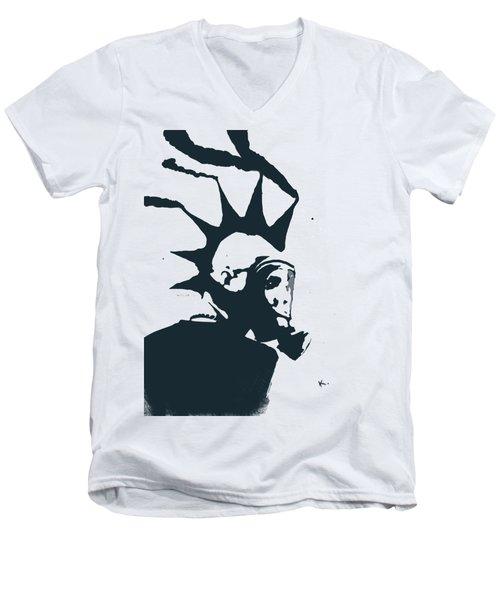 Moking Myself Men's V-Neck T-Shirt
