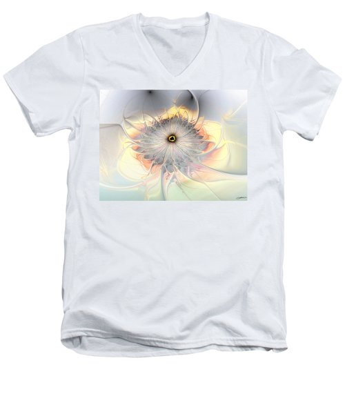 Momentary Intimacy Men's V-Neck T-Shirt by Casey Kotas