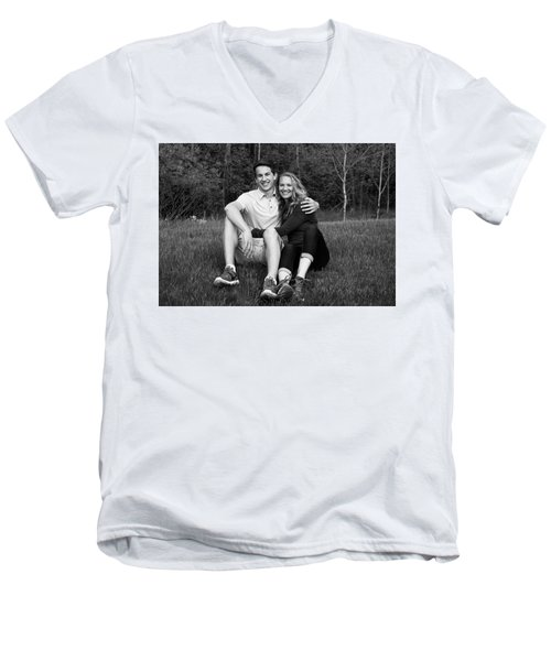 Mom's Day 2016 Men's V-Neck T-Shirt by Dan Hefle
