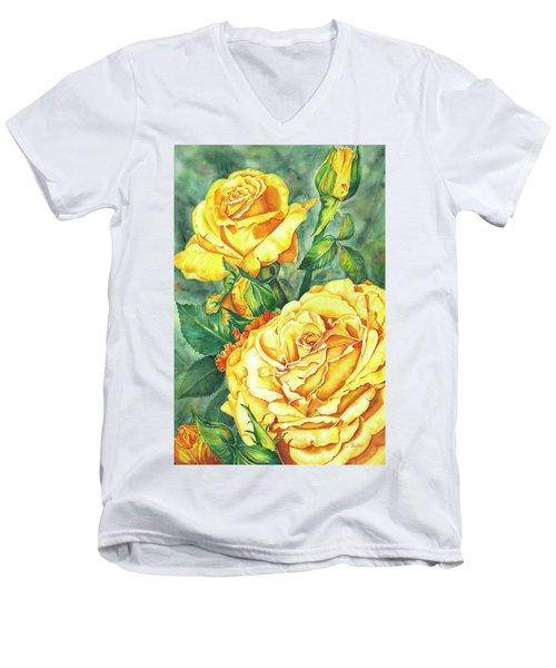 Mom's Golden Glory Men's V-Neck T-Shirt